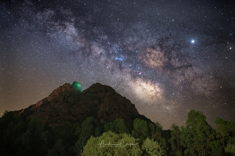 La notte di San Lorenzo al castello di Acquafredda 10 Agosto Siliqua