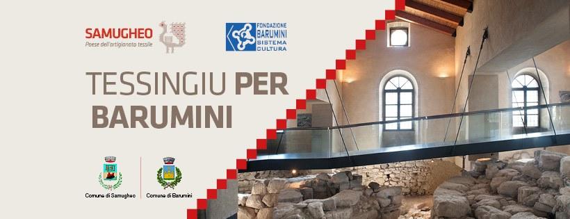 Inaugurazione Tessingiu per Barumini 26 luglio – 6 ottobre 2019
