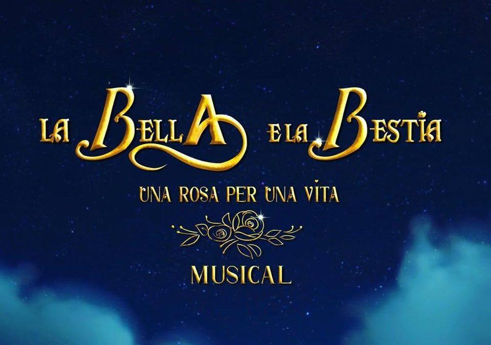 Sardegna La bella e la bestia, una rosa per una vita il musical 7 marzo 2020 Teatro Massimo, Cagliari
