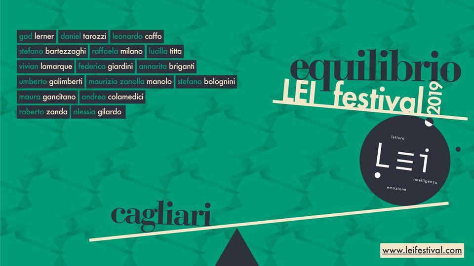 LEI Festival | Incontri con autori Cagliari  5-8 dicembre Teatro Massimo Cagliari