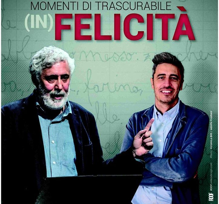 Momenti di trascurabile (in)Felicità 18 Gennaio 2020  Teatro Massimo Cagliari