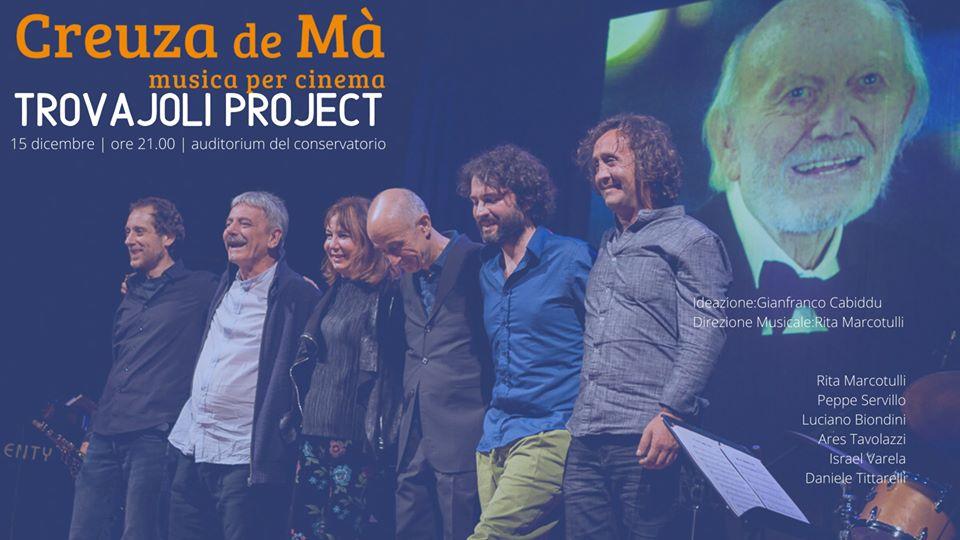 Trovajoli Project   creuza19 all'Auditorium del Conservatorio  di Cagliari 15 dicembre 2019