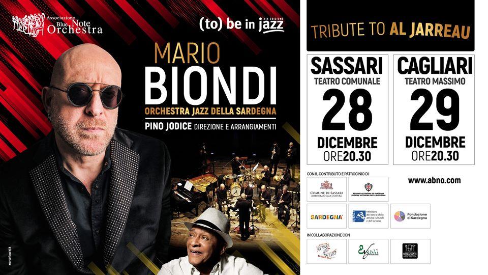 Mario Biondi & OJS – Tribute to Al Jarreau 29 dicembre 2019 Teatro Massimo Cagliari