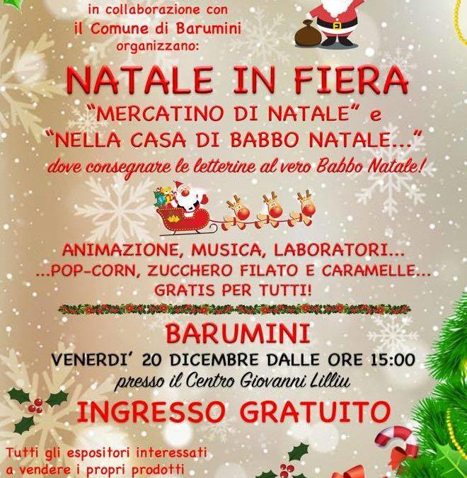 Natale in Fiera, 20 dicembre 2019, Barumini