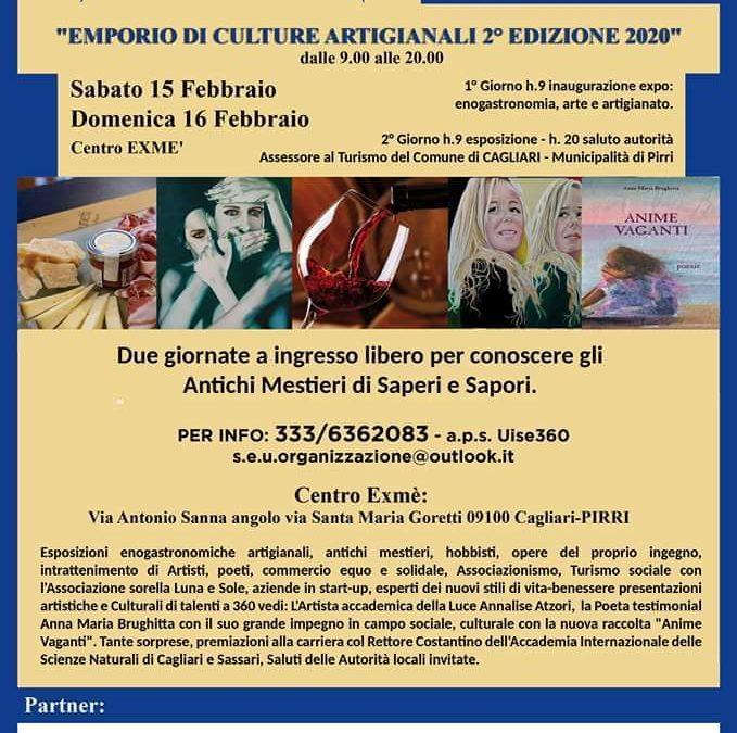 Emporio Di Culture Artigianali 2° Edizione 15 febbraio 2020 Pirri