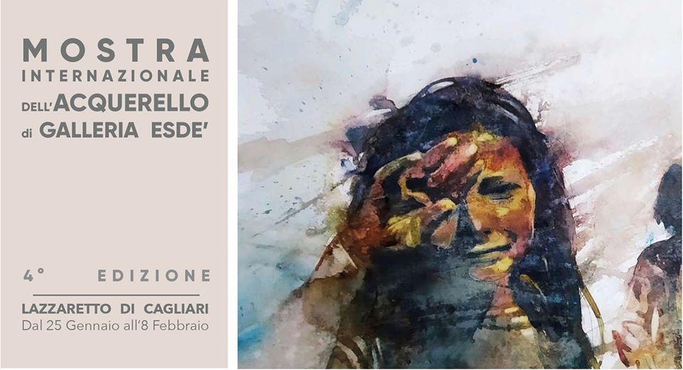 4° Mostra Internazionale dell'Acquerello 25 gennaio – 8 febbraio 2020 Lazzaretto Cagliari