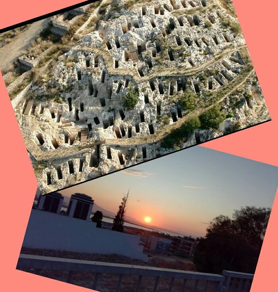Tuvixeddu al tramonto con aperitivo fenicio Cagliari 10 Giugno