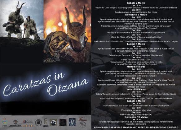 Caratzas in Otzana 3 marzo 2019