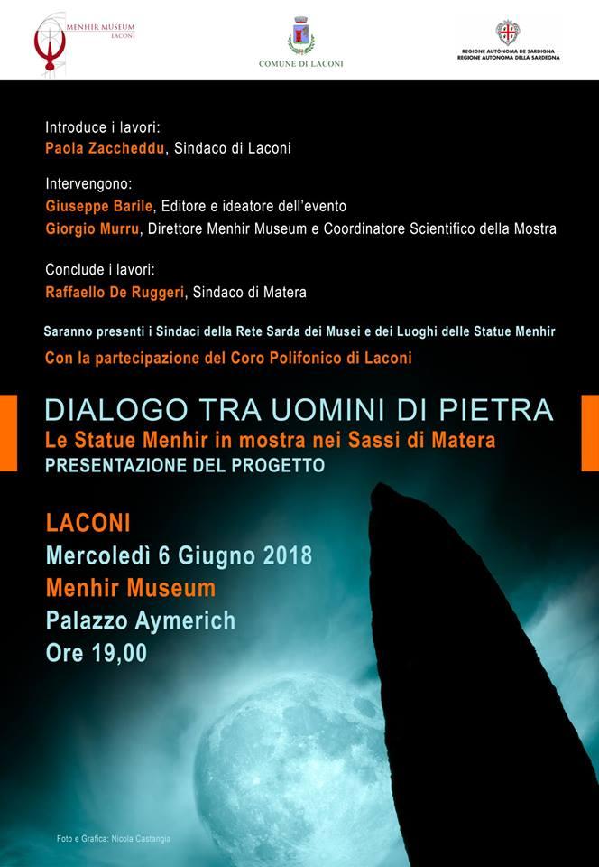 Dialogo tra uomini di pietra, Museo della statuaria preistorica della Sardegna (Laconi)
