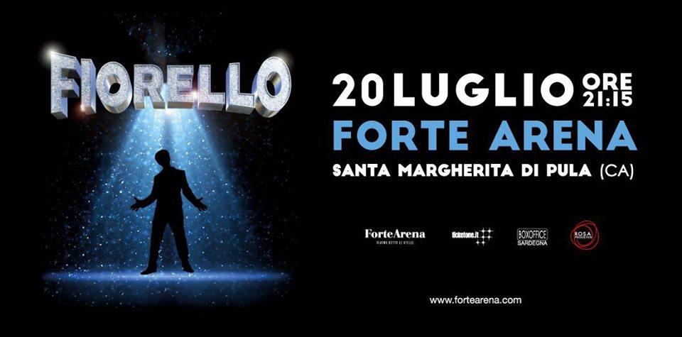 Fiorello   20 Luglio 2019 Forte Arena Pula