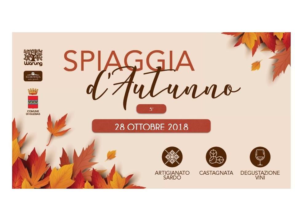 Spiaggia d'Autunno 5° edizione, Masua, Sardegna 28 ottobre 2018