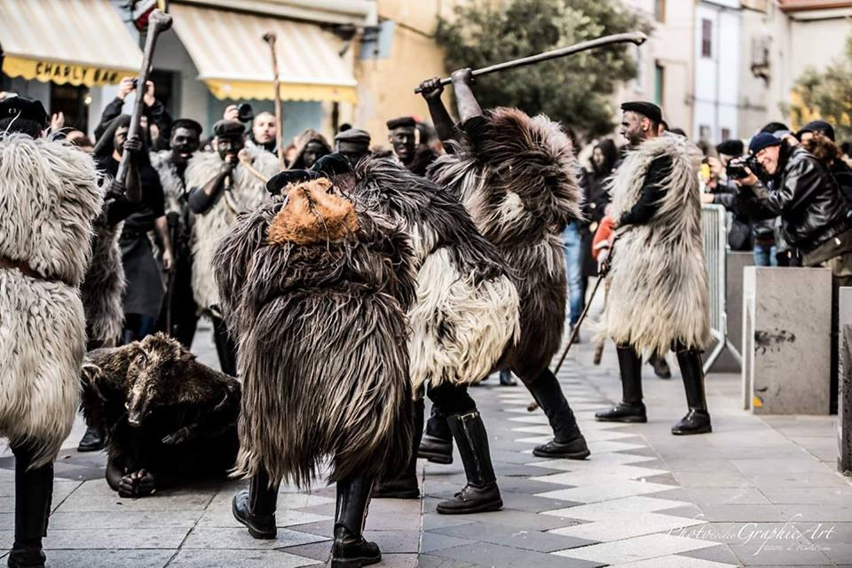 XII RASSEGNA DI MASCHERE TRADIZIONALI Ula Tirso 16 marzo 2019