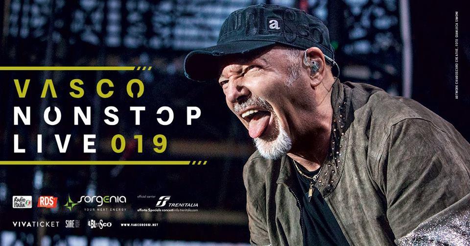 Vasco Rossi Tour Cagliari 18/19 Giugno 2019 Arena Grandi Eventi